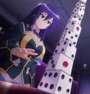 The result of Medaka's dice test
