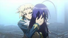 Zenkichi hugs Medaka II