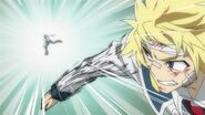 Zenkichi defeats Hyuga