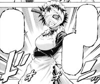 Naze in a maid outfit