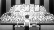 Takachiho at his family's funeral