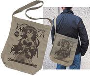 Kurokami Medaka Shoulder Tote Bag