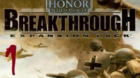 Прохождение Medal of Honor Allied Assault Breakthrough 1 - Битва на Кассерине