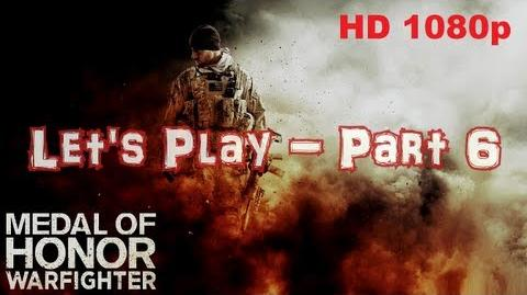 Medal Of Honor Let's Play Part 6 - Mission Rip Current With Commentary HD 1080p