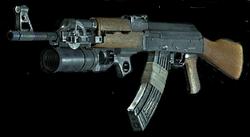 AK-47render