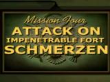 Attack Impenetrable Fort Schmerzen