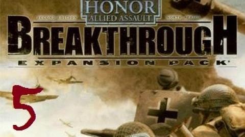 Проходження Medal of Honor Allied Assault Breakthrough 5 - Приземлення планера