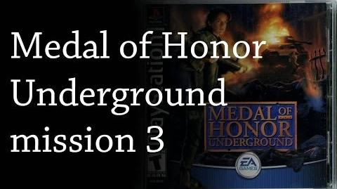 Medal Of Honor Underground - mission 3