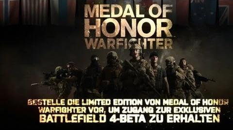 Medal of Honor Warfighter - Battlefield-4-Beta für Vorbesteller im Trailer zu MoH enthüllt