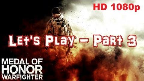 Medal Of Honor Let's Play Part 3 - Mission Shore Leave With Commentary HD 1080p