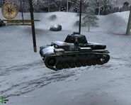 Panzer IV Snow