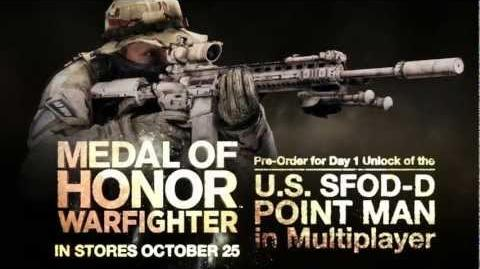 Medal of Honor Warfighter - Späher des U.S. SFOD-D (Delta Force) Pre-Order Bonus