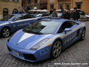 Police Lamborghini Gallardo