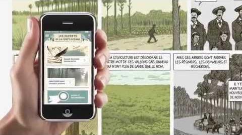 """TEASER - BD interactive """"Les secrets de la forêt océane"""""""