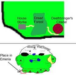 House styrke regional map
