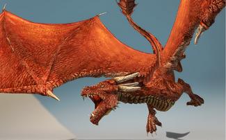 Rage dragon