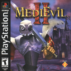 MediEvil 2 NTSC cover