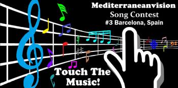Mediterraneanvision Song Contest -3 Slogan