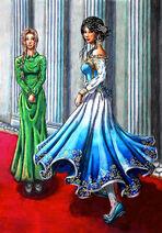 Princess gee nera and inra lon weris by kasuriri