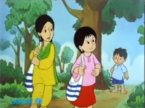 Image Who Is Afraid Of The Bully 1 Png Meena Cartoon Wiki