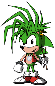 Manic Rose the Hedgehog