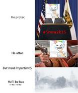 He'll be bac snowstorm
