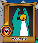 Club Penguin - Happy and Excited