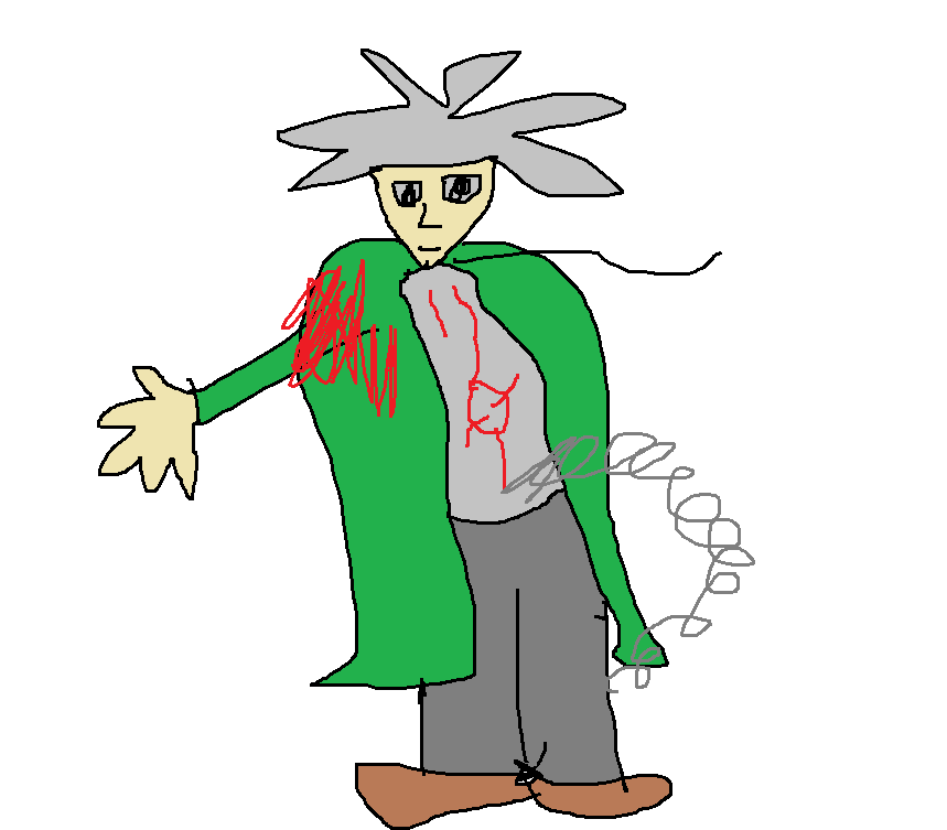 Random drawing of nagito komaeda