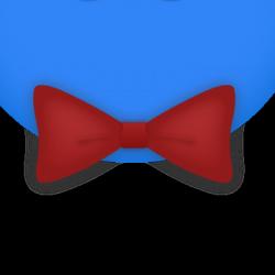 Fancy Red Bowtie
