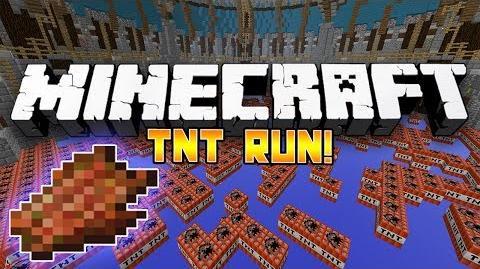 Minecraft Mini-Game TNT Run! - w Preston & Woofless