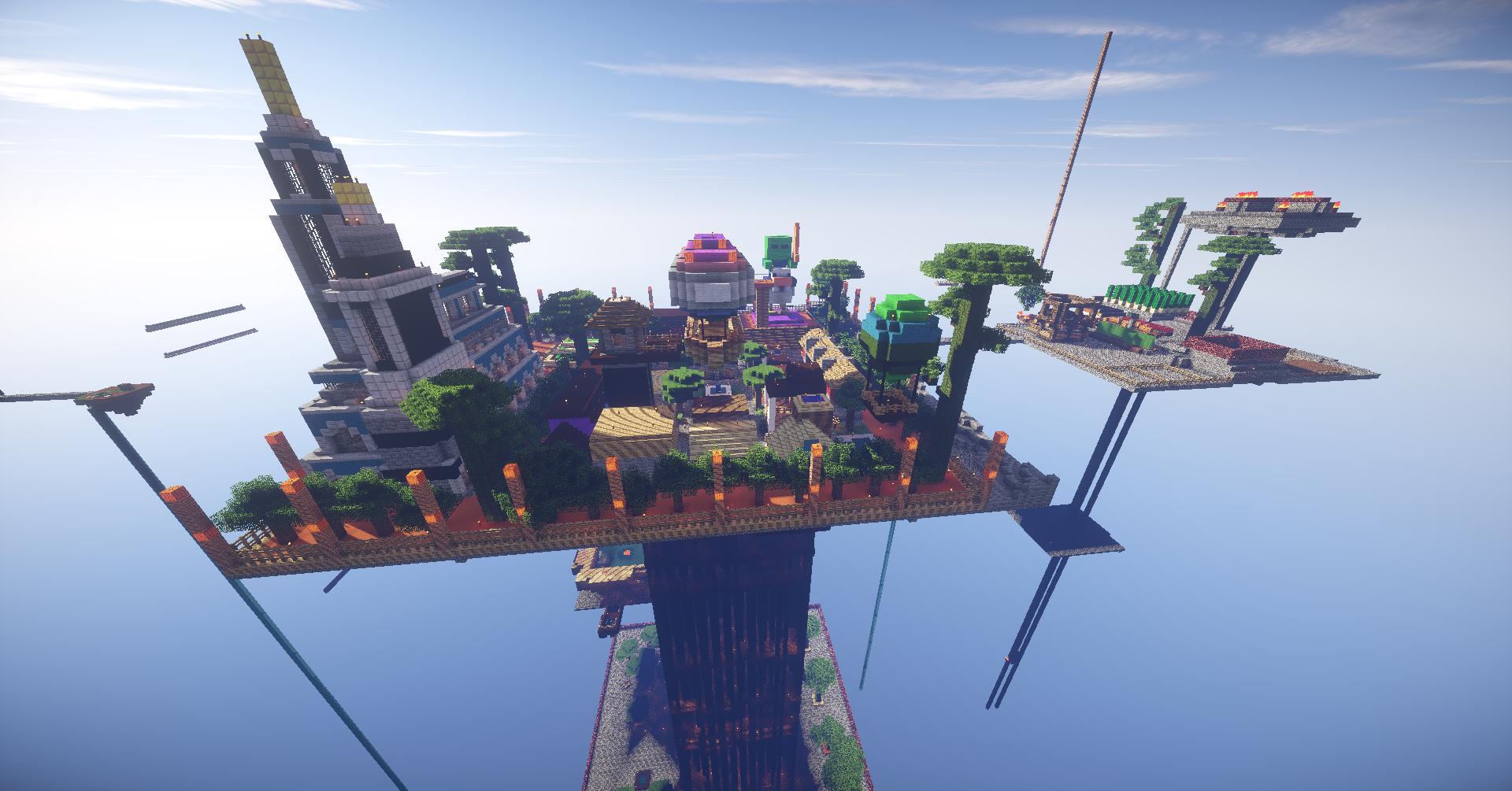 Minecraft Original Skyblock Server - Muat Turun i