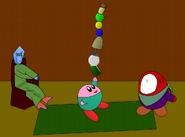 Jongleur Kirby in Bimers Haus Bunt