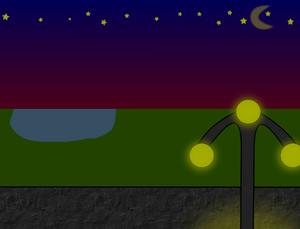 Nebilla bei Nacht