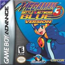 MegaMan Battle Network 3 Blue Version Coverart
