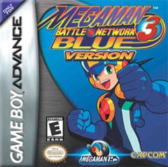 MegaMan Battle Network 3 Blue Version Coverart