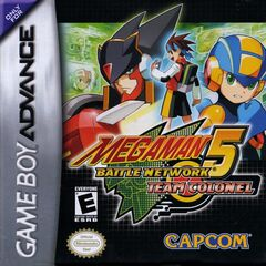MegaMan Battle Network 5 Team Colonel Coverart