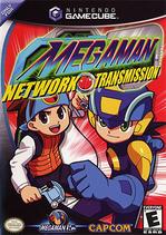 Mega Man Network Transmission Coverart