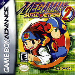Mega Man Battle Network 2 Coverart