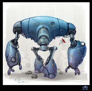 Giant robot Sullivan