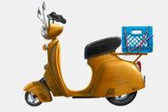 Hals scooter Lashelle 18