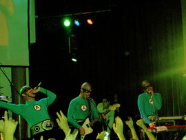 Aquabats live in Pittsburgh, 2005