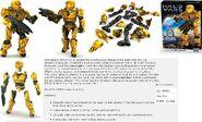 Yellow UNSC Spartan II