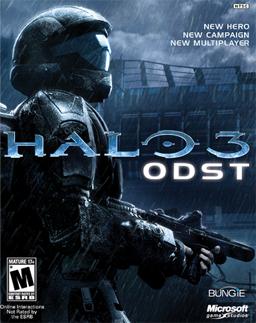 Halo 3 ODST Box Art