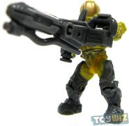 Yellow Flame Marine with Flamethrower
