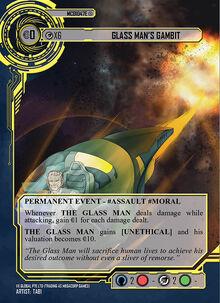 Glass man Gambit