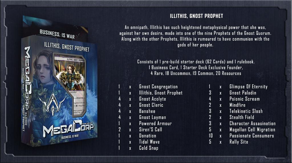 Starter Deck: Illithis Gnost Prophet | Megacorp Wikia