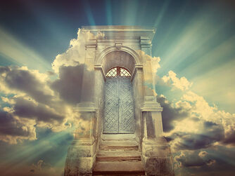 Heaven-gate-door credit-shutterstock