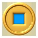Coin-blue