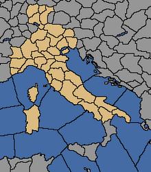 Włochy-obszar