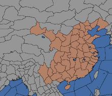 Chiny-obszar